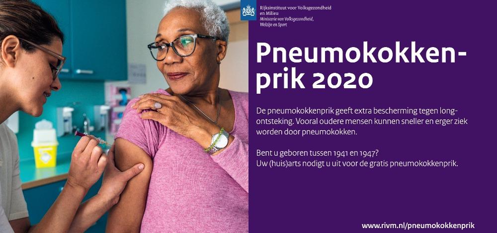 pneumokokkenvaccinatie 2020